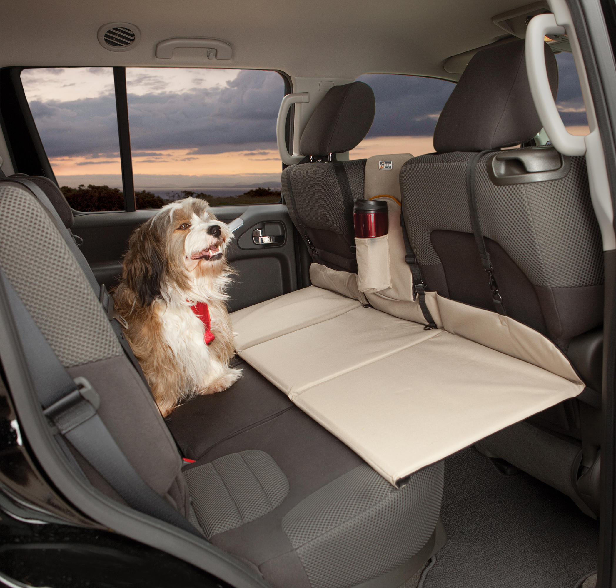 Kurgo Backseat Bridge Rear Car Seat Extension For Dog Travel