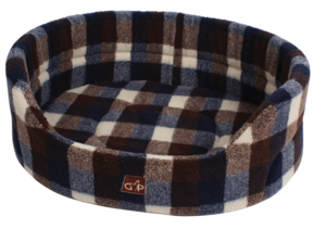 Gor Pets Highland Premium Check Dog Bed Autumn