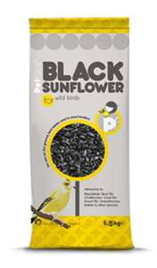 Petface Black Sunflower Seeds For Wild Birds