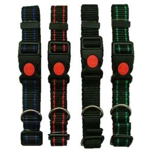 Kumfi Kombi Collar with Locking Snap Clip Colours