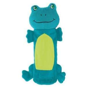 Outward Hound Bottle Gigglers Frog Dog Toy