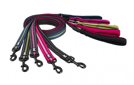 Hurtta Soft Grip Reflective Leash for Dogs