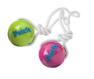 Planet Dog Orbee-Tuff Fetch Ball With Rope