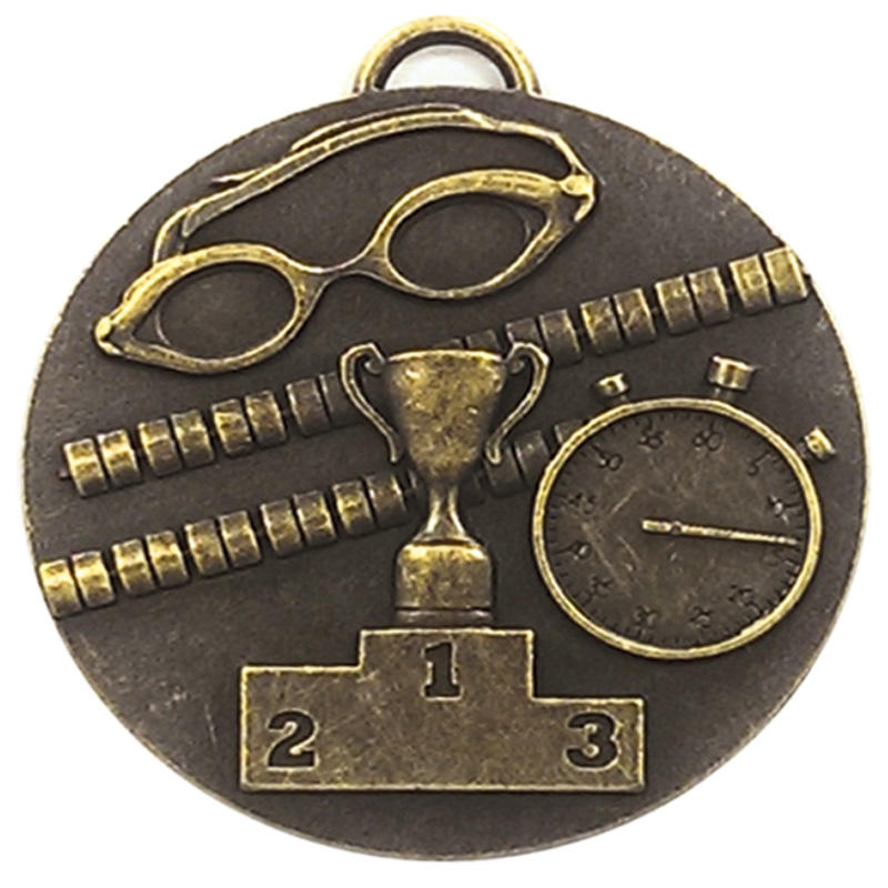 swimmers bronze medal