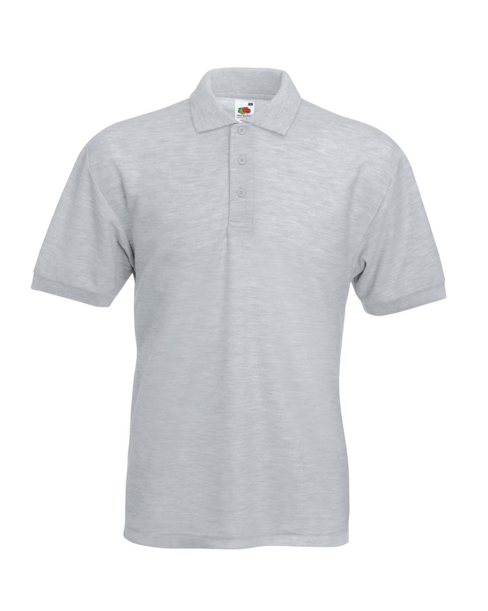 Heather Grey Classic Polo Shirt