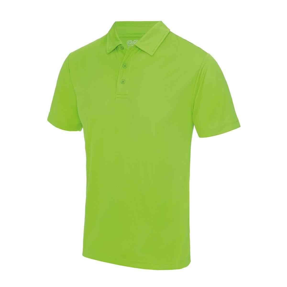 Electric Green Poolside Polo Shirt