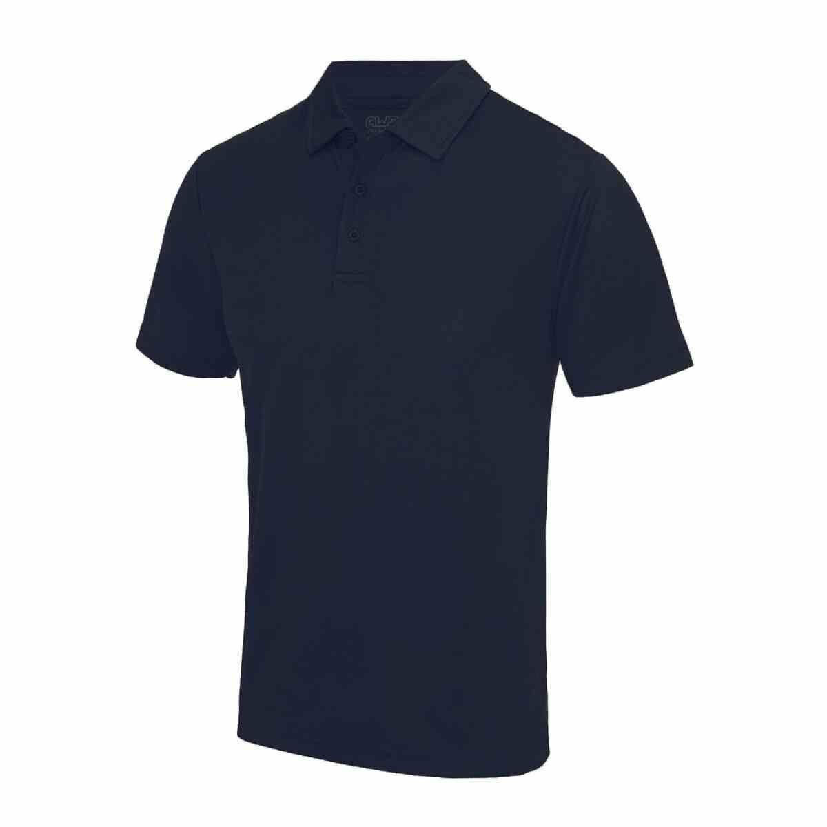 French Navy Poolside Polo Shirt