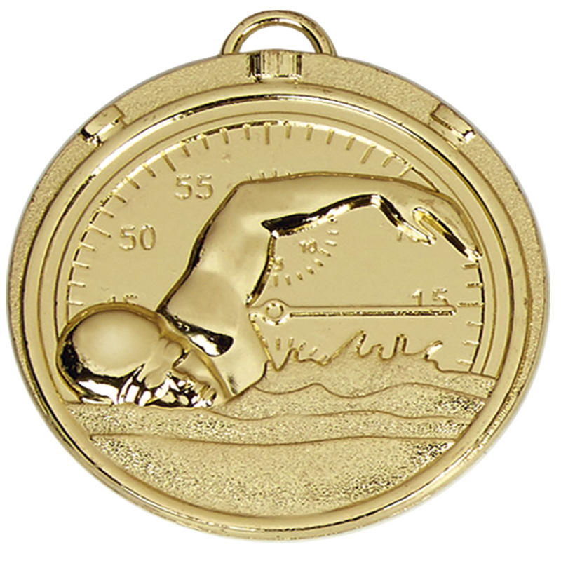 Swimmers Stopwatch gold medal