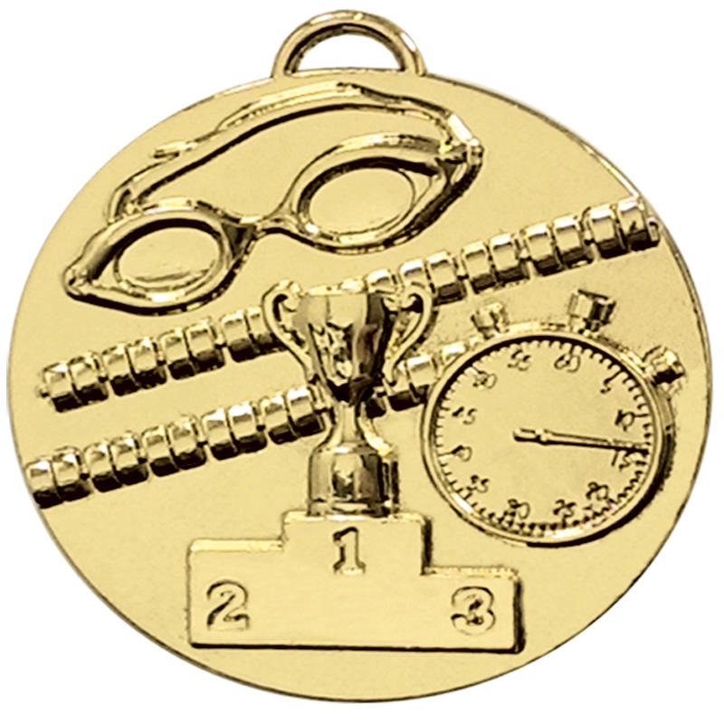 Swimmers gold medal