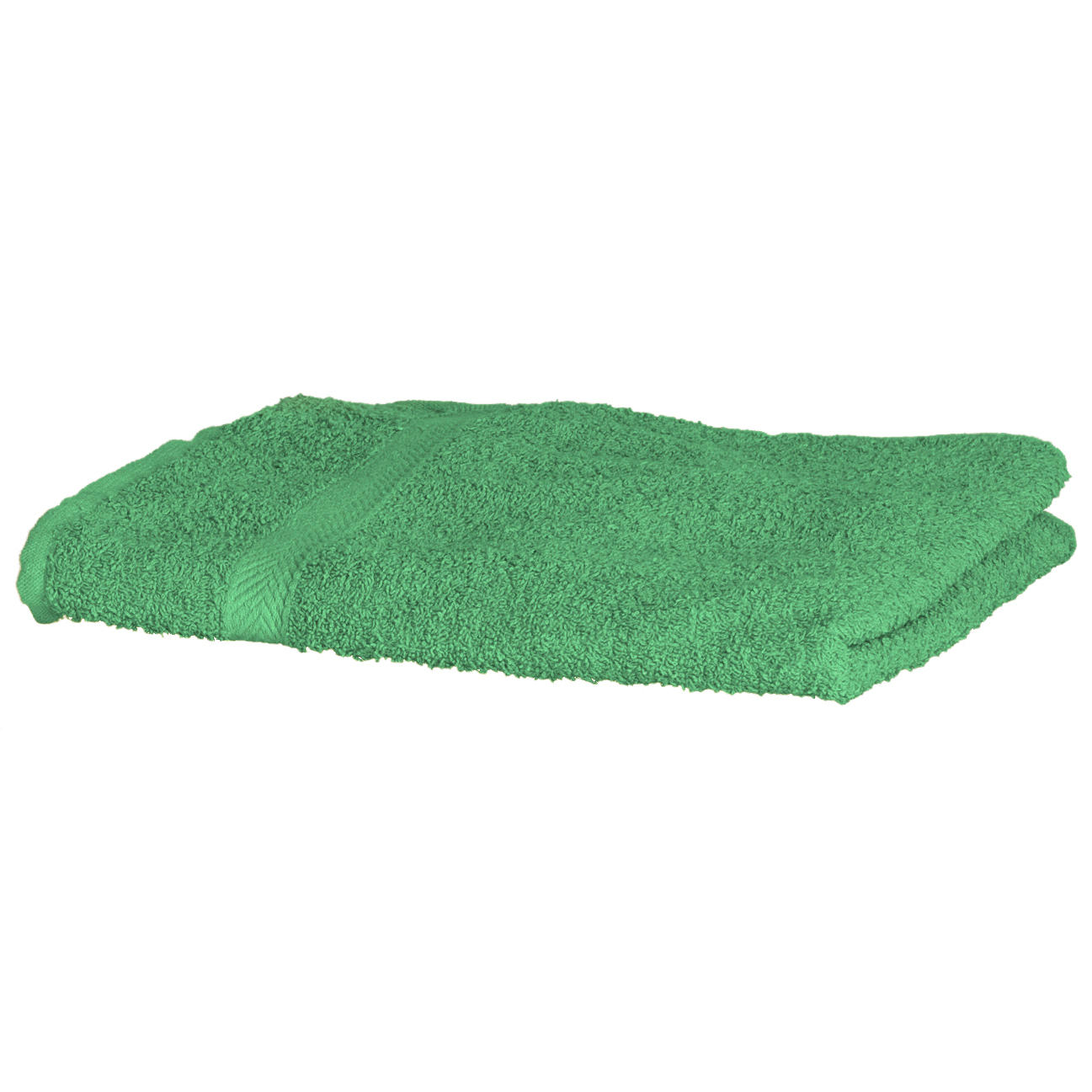 wimprint Luxury Custom Cotton Towel in bright green