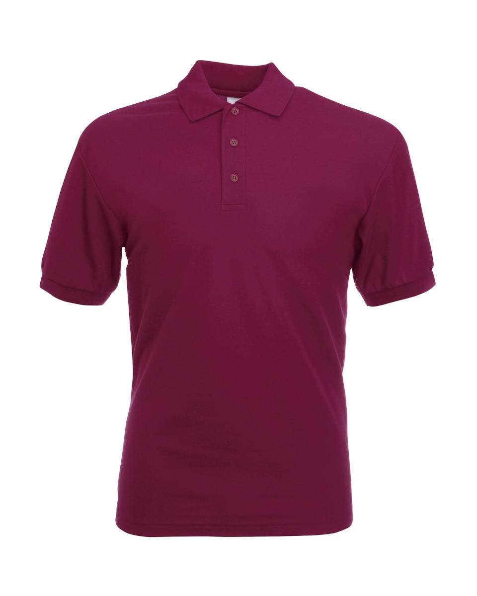Burgundy Classic Polo Shirt
