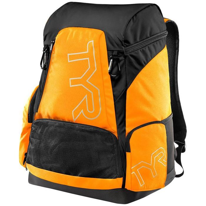 The orange and black TYR Alliance 45L Backpack