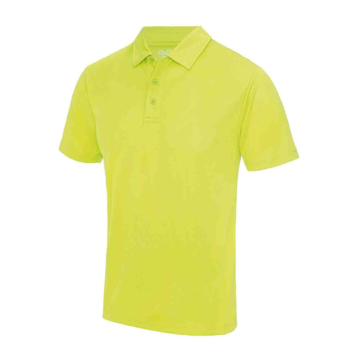 Electric Yellow Poolside Polo Shirt