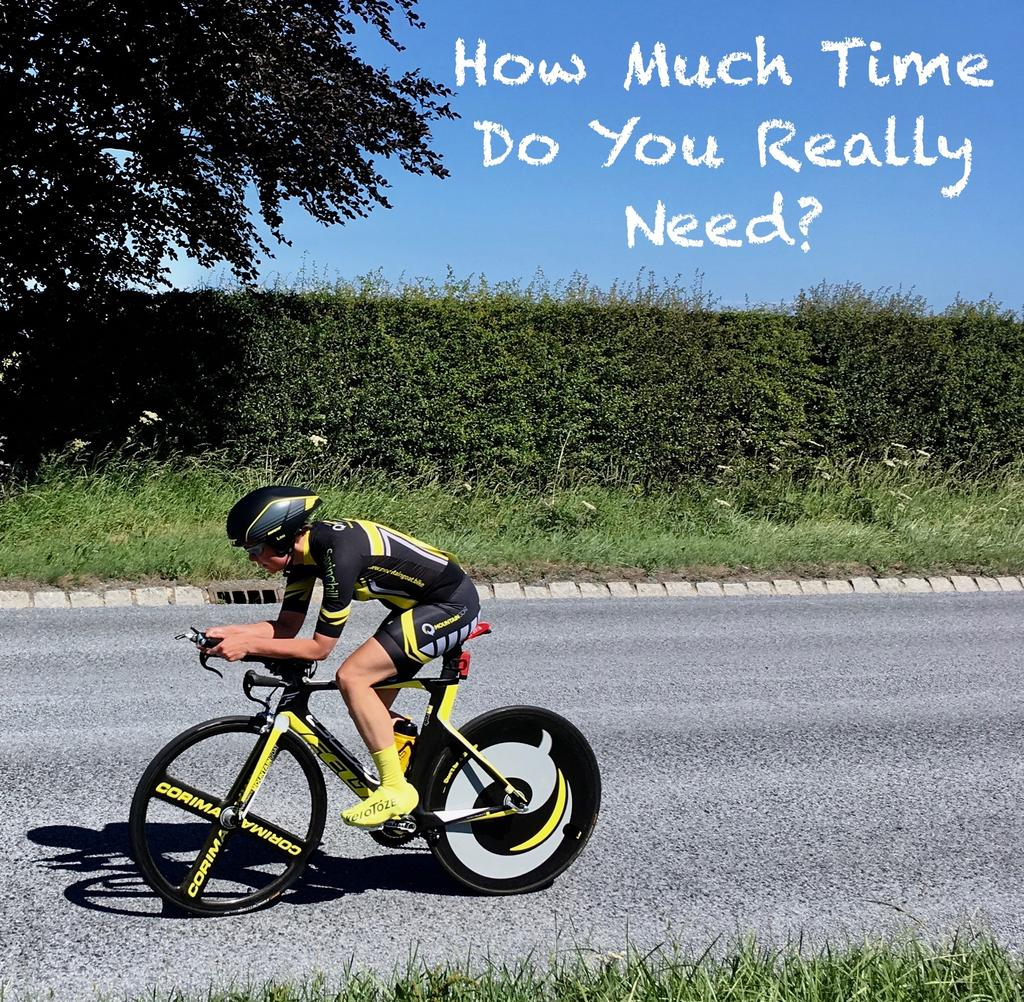 How Much Time Do You Really Need?