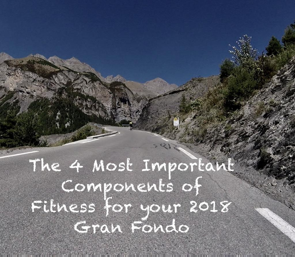 The 4 Most Important Components of Fitness for your 2018 Gran Fondo/Sportive