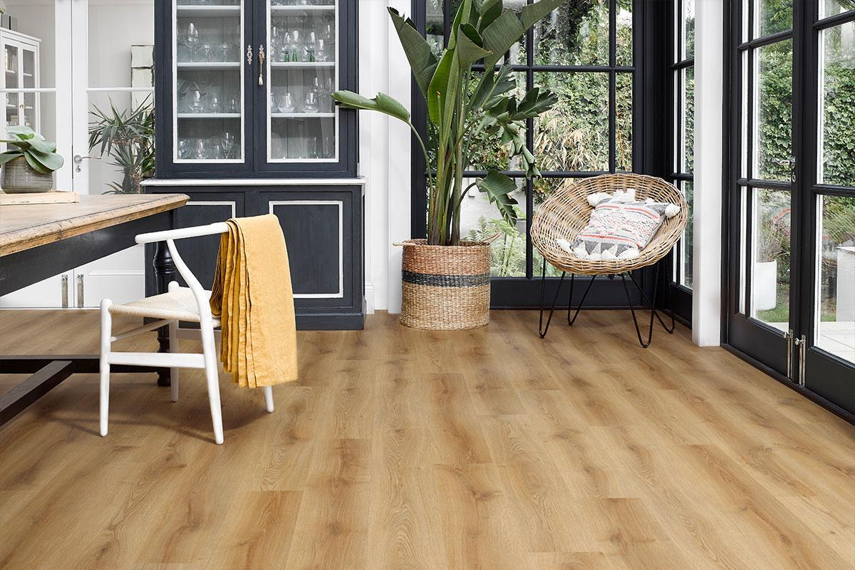 Baelea Aqua Rigid Core Warm Natural Oak Click Engineered Vinyl Floor