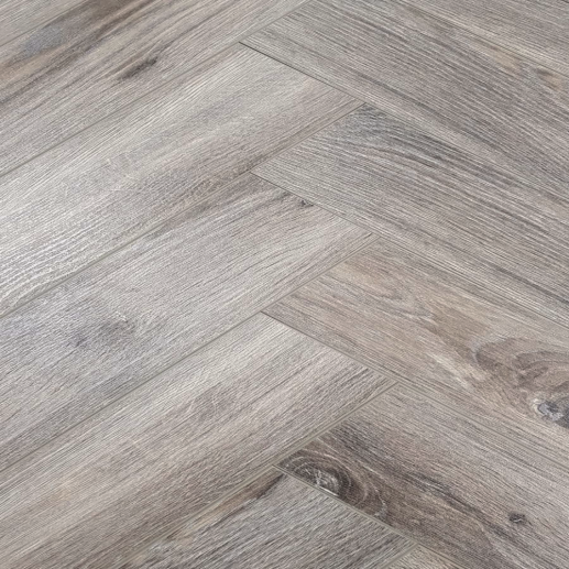 Baelea Nature Parquet Rustic Fossil Grey Oak 12mm Laminate Flooring
