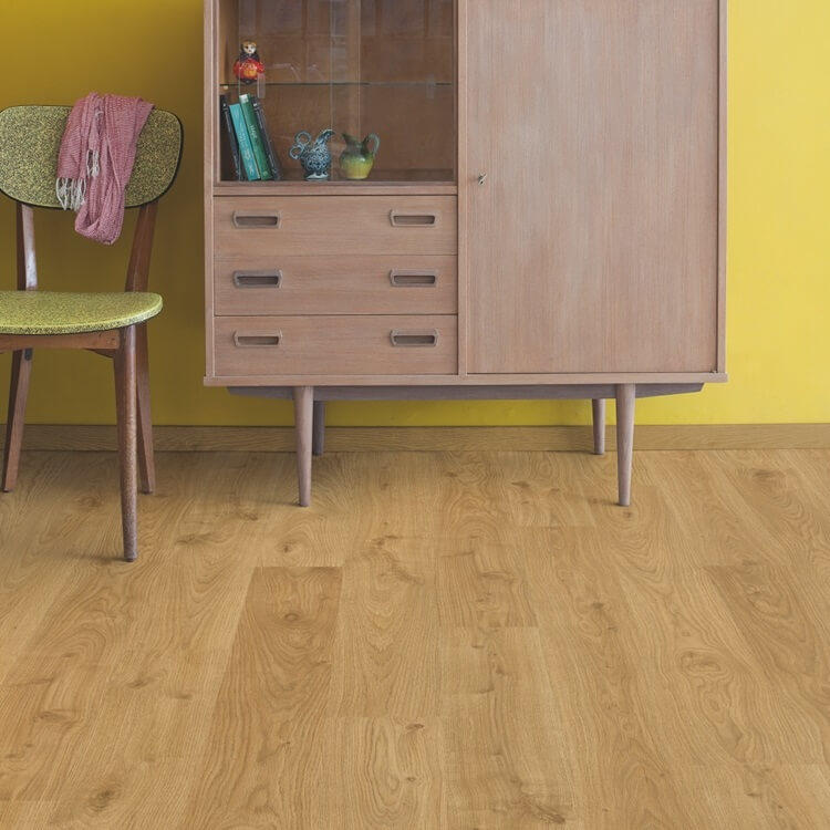 Quick Step Eligna White Oak Light Natural Planks EL1491 Hydroseal Laminate Flooring