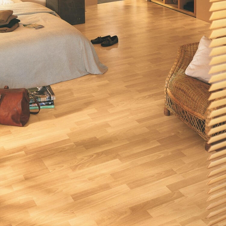 Quick-Step Classic Enhanced Beech 3 Strip CL1016 Hydroseal Laminate Flooring