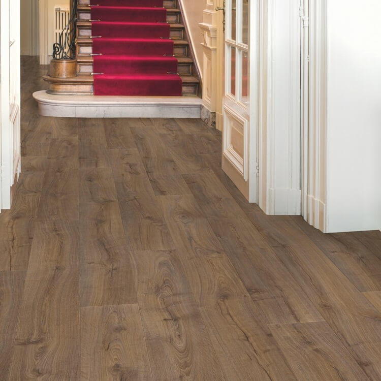 Quick-Step Largo Cambridge Oak Dark Planks LPU1664 Laminate Flooring