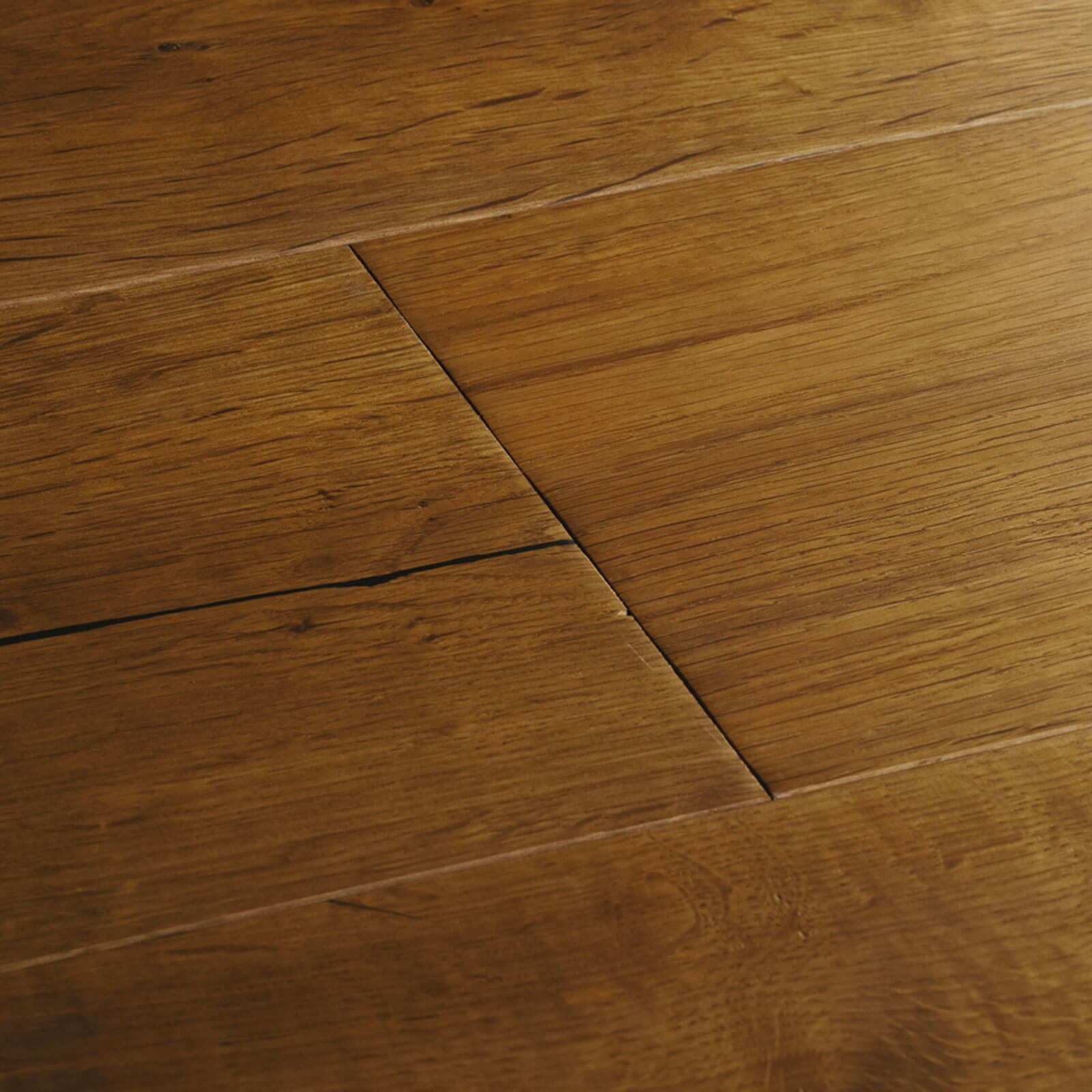 Woodpecker Berkeley Distressed Smoked Oak Oiled 38-BOS-003 Engineered Wood Flooring