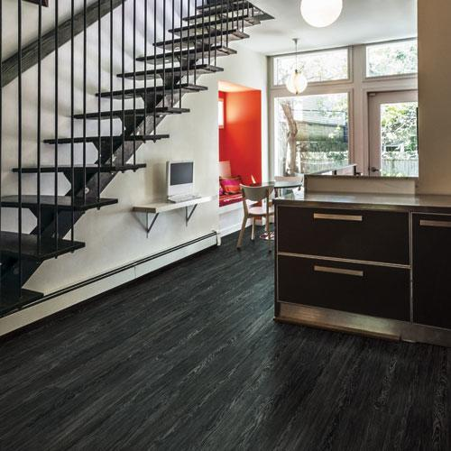 Black LVT Flooring