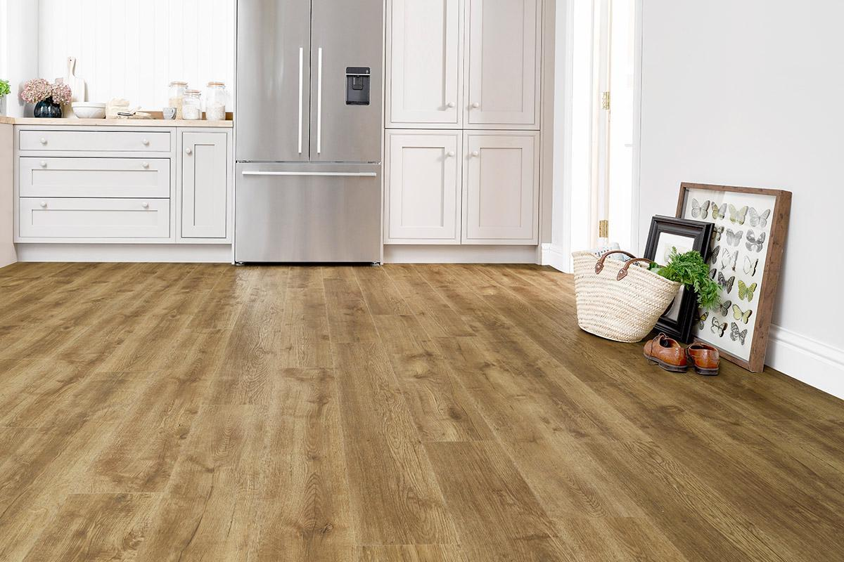 Baelea Aqua Rigid Core Rustic Warm Oak Click Engineered Vinyl Floor