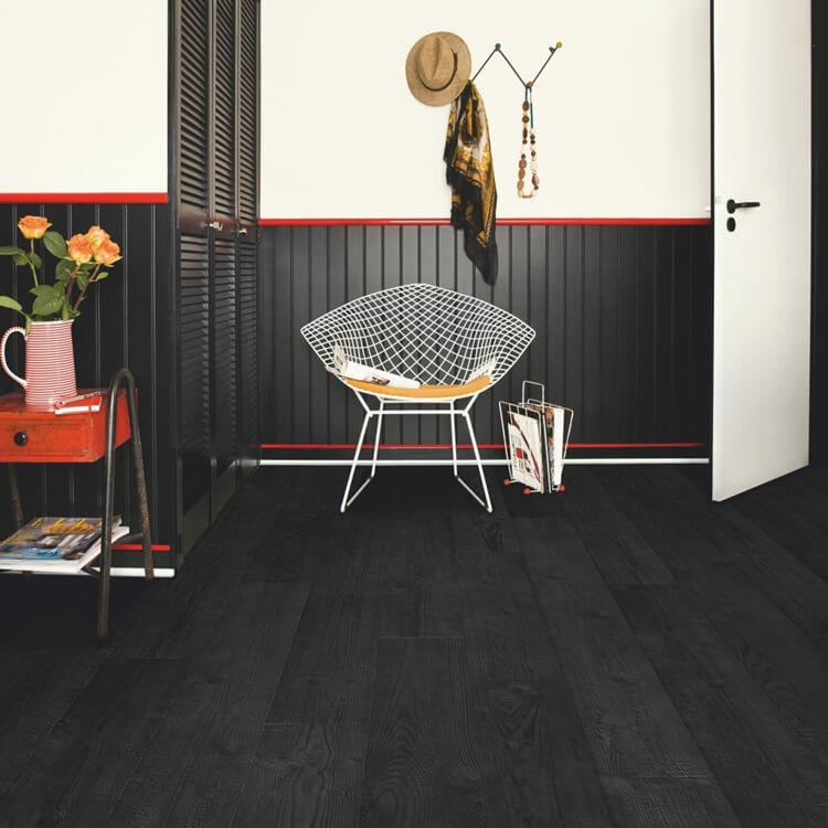 Quick-Step Impressive Ultra Burned Planks IMU1862 12mm Laminate Flooring