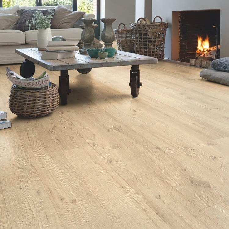 Quick-Step Impressive Ultra Sandblasted Oak Natural IMU1853 12mm Laminate Flooring