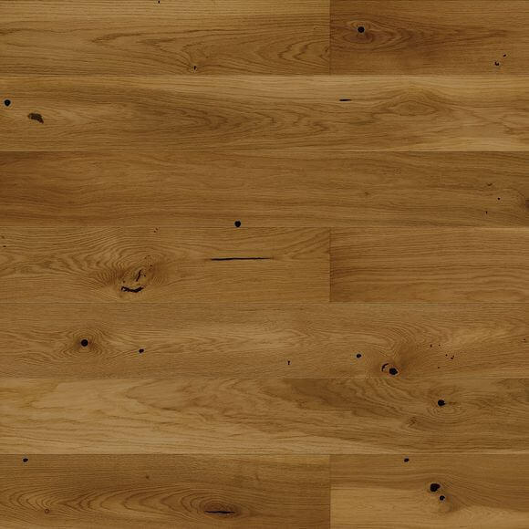 Baelea Narrow Butterscotch Oak UV Matt Lacquered 130mm Wide Engineered Wood Flooring BF43