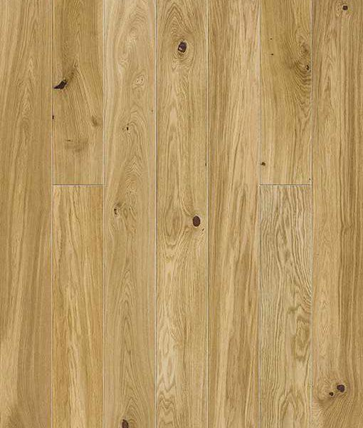 Baelea Holt Arden Oak Smooth & Matt Lacquered 130mm Wide Narrow Engineered Wood Flooring