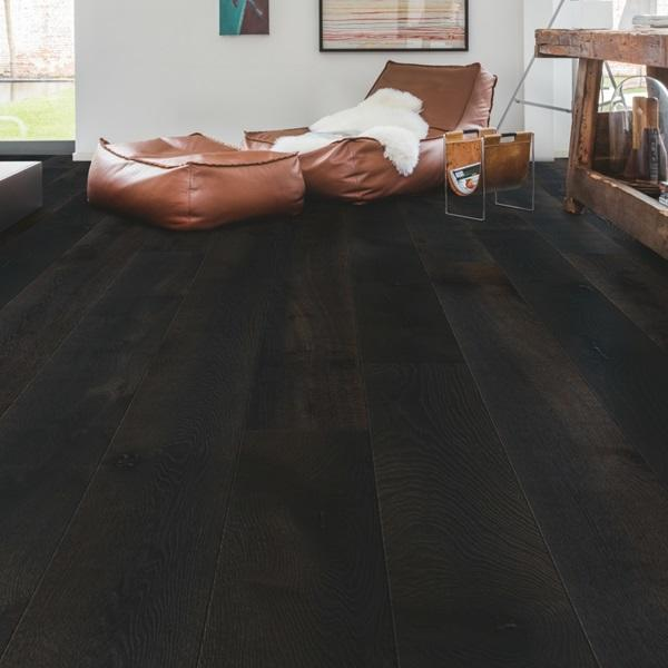 Quick-Step Palazzo Midnight Oak Oiled Engineered Realwood Flooring PAL3889S