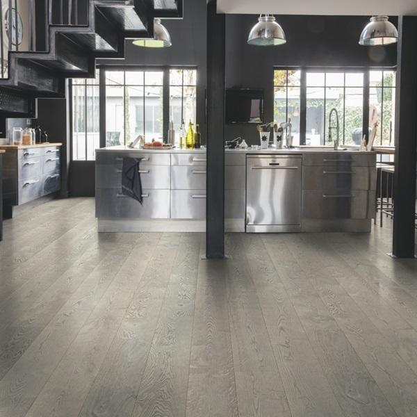 Quick-Step Palazzo Concrete Oak Oiled Engineered Realwood Flooring PAL3795S
