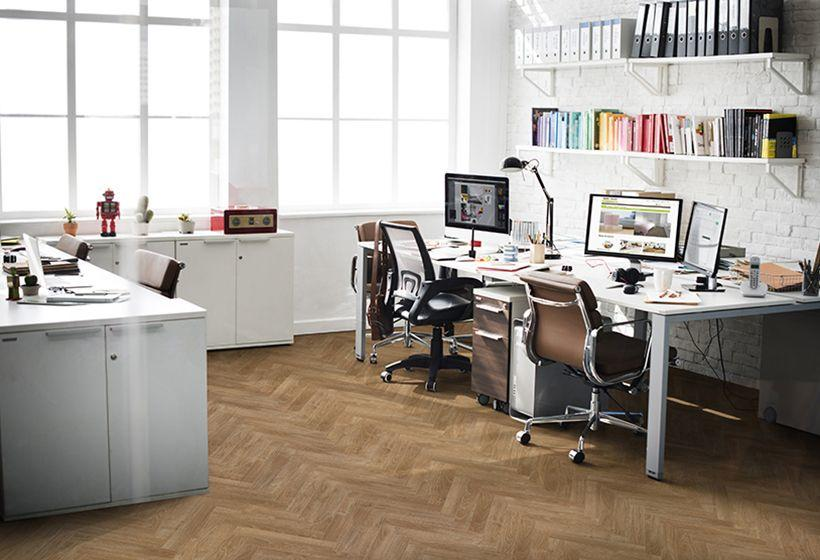 Berry Alloc Chateau Texas Light Brown Parquet Herringbone Laminate Flooring