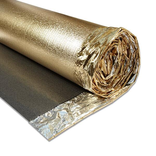 Novostrat Sonic Gold 5mm Damp Proof Membrane DPM Sound Reduction & Leveling Laminate & Wood Underlay