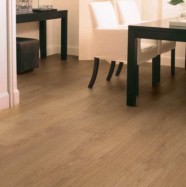 Quick-Step Classic Natural Varnished Oak CLM1292 Hydroseal Laminate Flooring