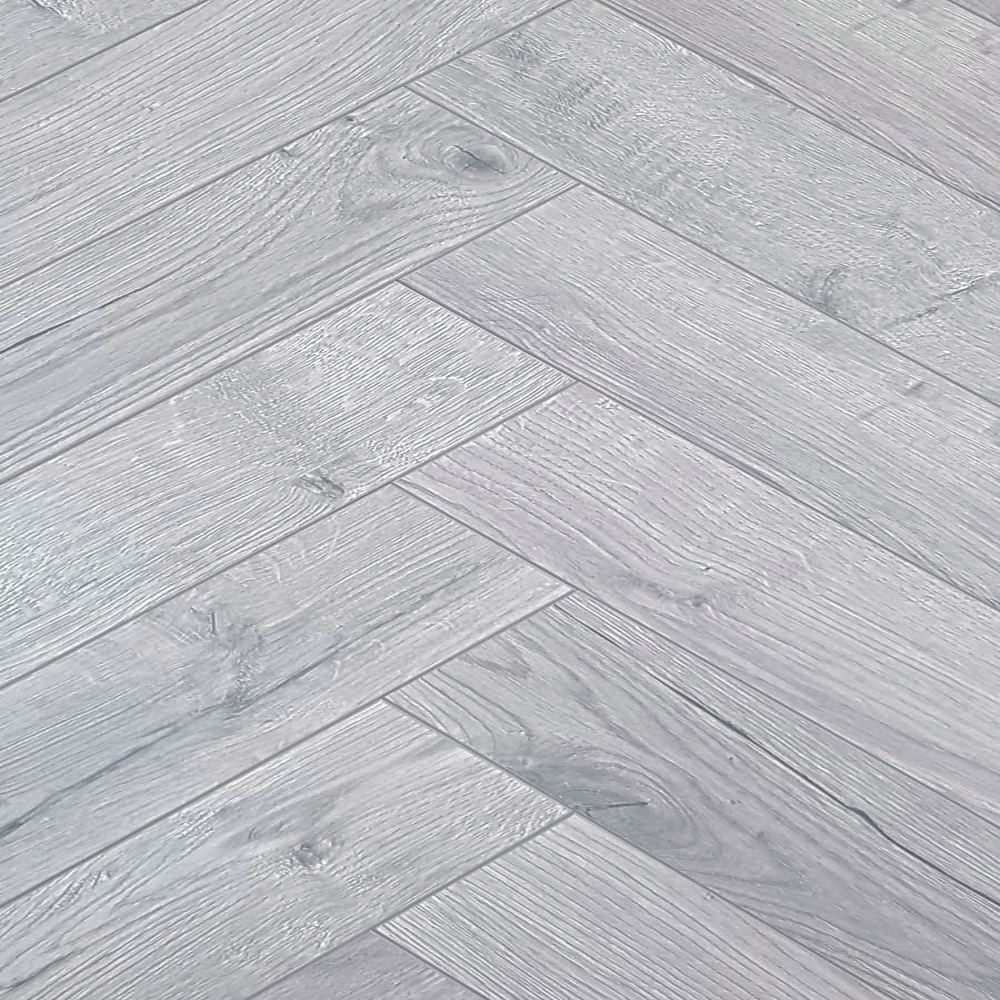 Baelea Nature Parquet Rustic Oak Grey 12mm Laminate Flooring