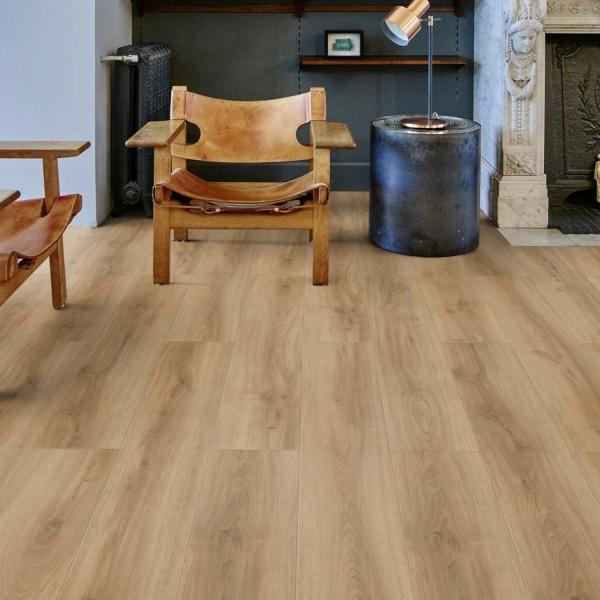 Baelea Aqua Plus Rigid Core Light Natural Oak Click Engineered Vinyl Floor