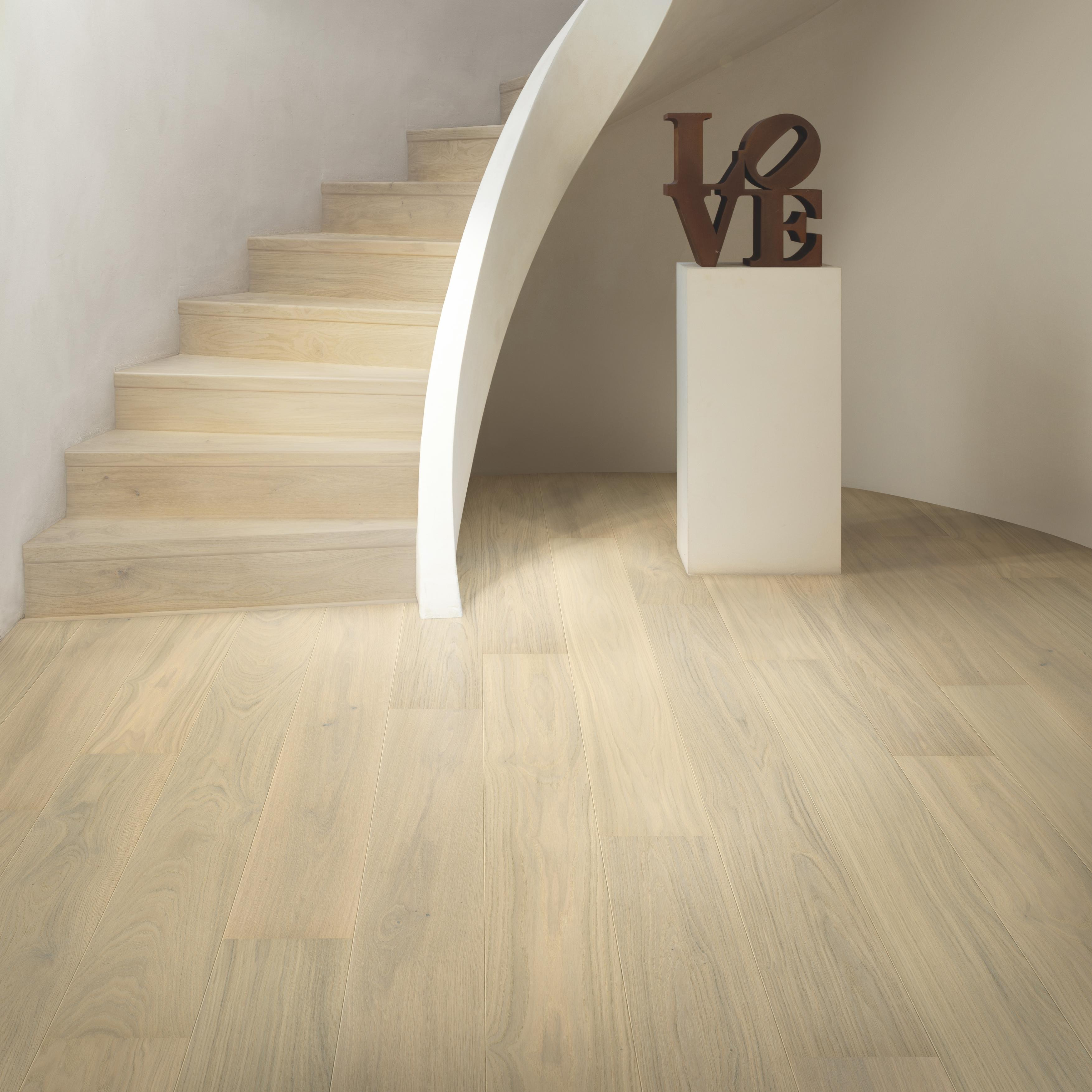 Quick-Step Palazzo Lily White Oak Extra Matt Engineered Realwood Flooring PAL5106S