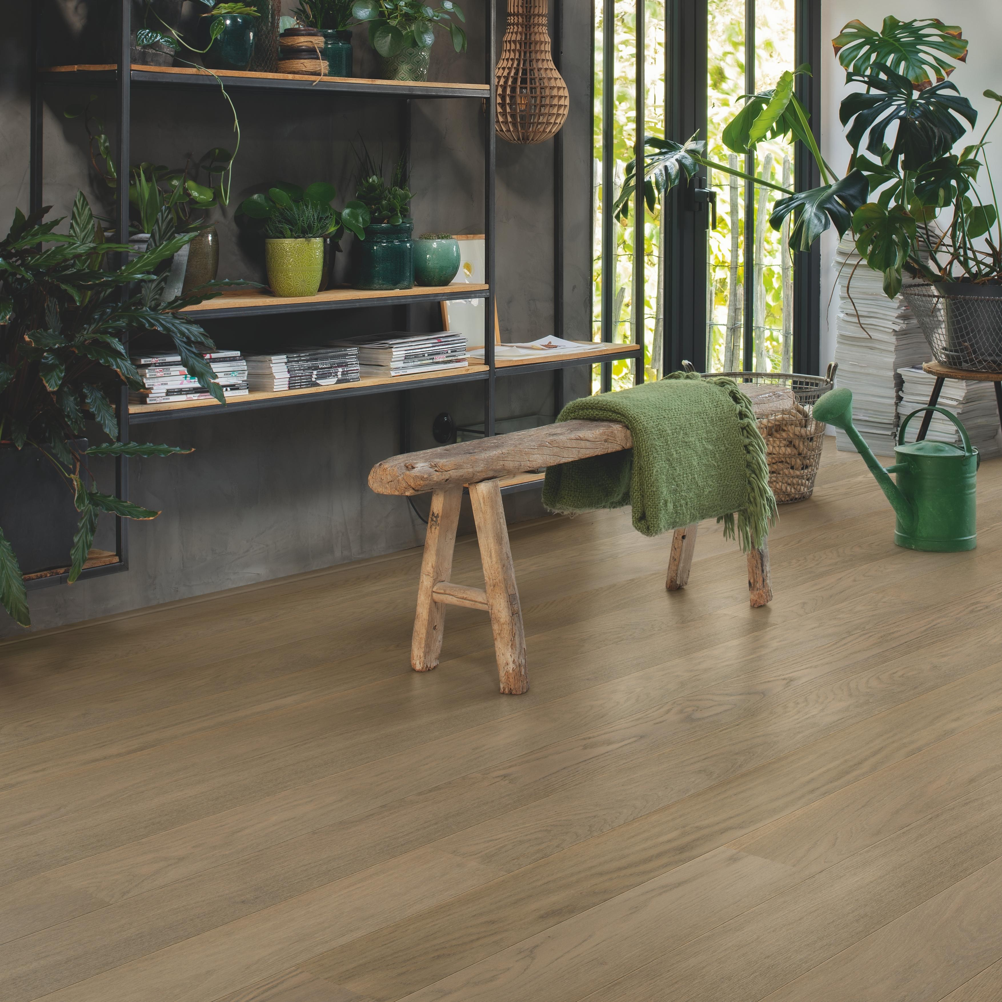 Quick-Step Castello Vivid Grey Oak Extra Matt Engineered Realwood Flooring CAS5107S