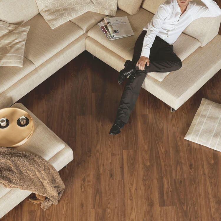 Quick Step Eligna Oiled Walnut Planks EL1043 Hydroseal Laminate Flooring