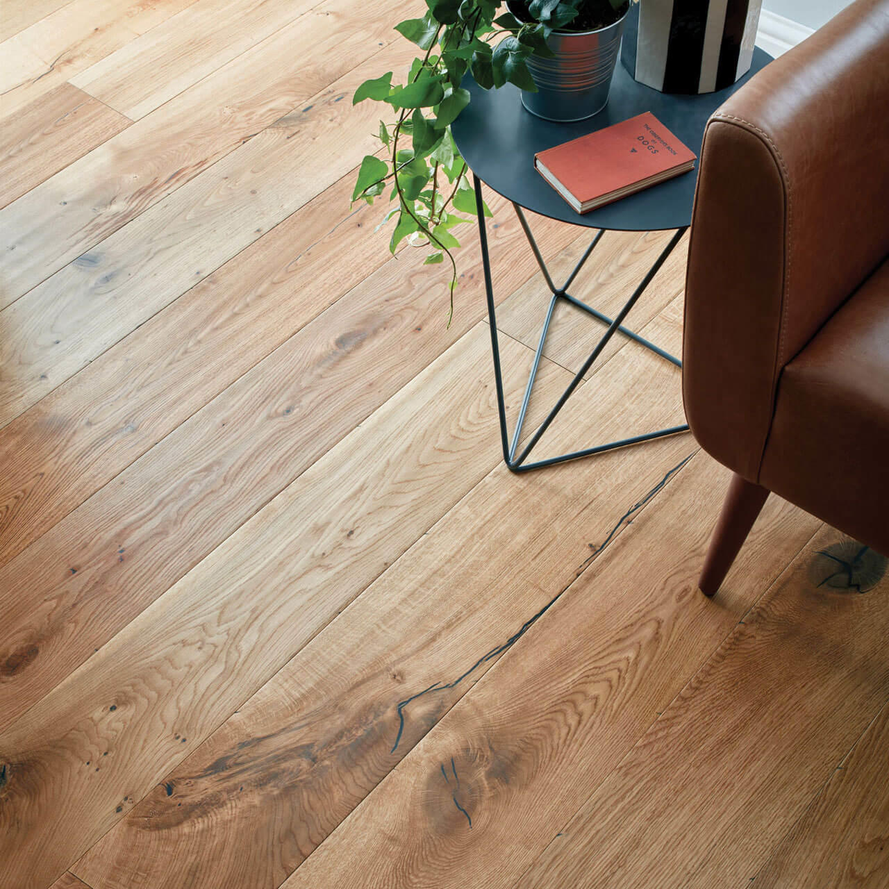 Woodpecker Berkeley Distressed Natural Oak Oiled 38-BON-004 Engineered Wood Flooring