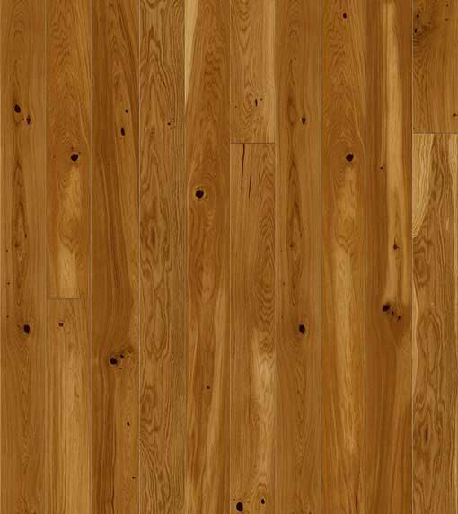 Baelea Holt Friston Oak Brushed Matt Lacquered 130mm Wide Narrow Engineered Wood Flooring