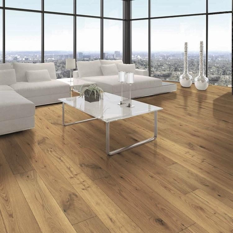 Tuscan Vintage Natural Oak Brushed & Matt Lacquered TF200 Engineered Wood Flooring