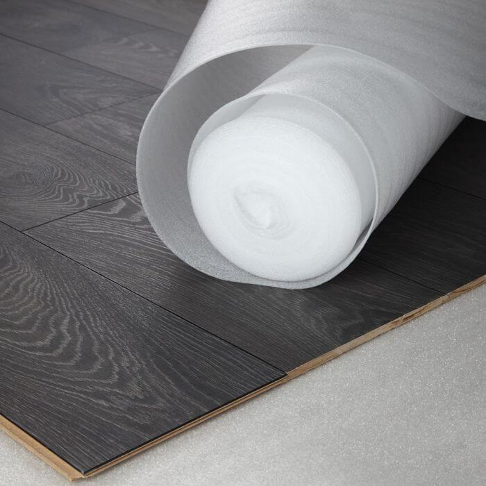 Standard White Foam 3mm or 2mm Laminate & Wood Underlay