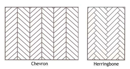 Chevron or Herringbone - What is the difference?