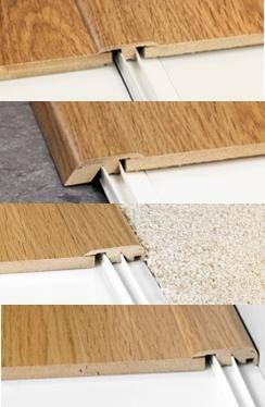 Quick-Step Incizo Door & Threshold Profile 5 in 1 for Laminate Flooring