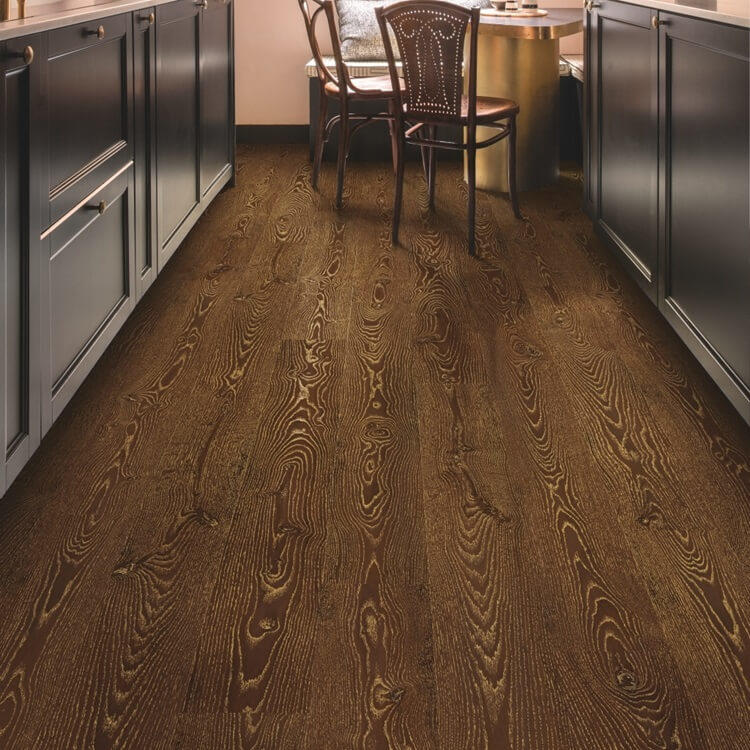 Quick-Step Eligna Metallic Ceruse Oak Gold Planks EL3466 Hydroseal Laminate Flooring