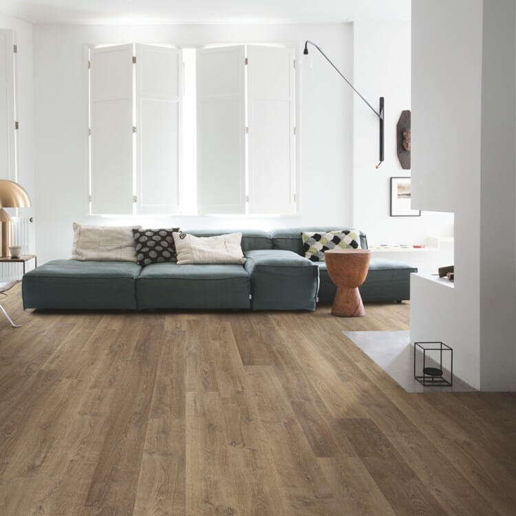 Quick-Step Eligna Riva Oak Brown Planks EL3579 Hydroseal Laminate Flooring