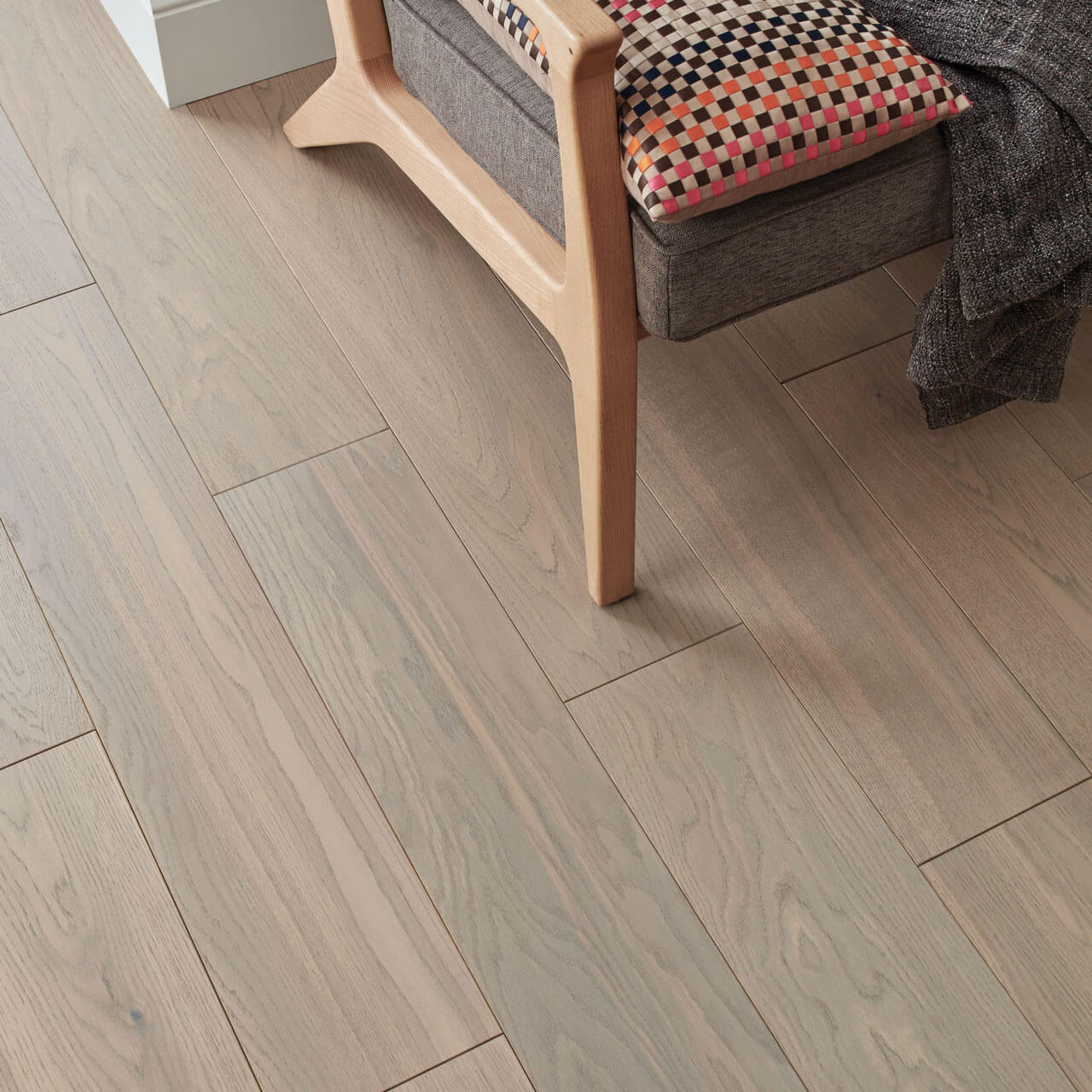 Woodpecker Salcombe Dune Oak Brushed & Matt Lacquered 45-WGR-016 Engineered Wood Flooring